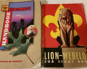 Cub Scout and Boy Scout Handbooks