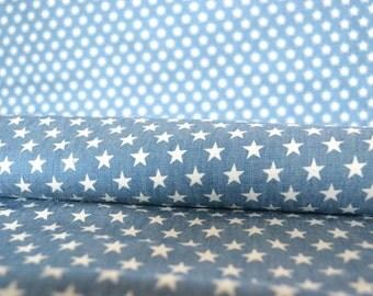 Blue Denim fabric, lightweight denim, 4oz denim, stretch denim fabric, blue children's fabric, supersoft denim, dressmaking denim, craft