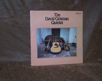 David Grisman Quintet-David Grisman Quintet/ 1977 Kaleidoscope Records/ acoustic jazz band/ Folk Bluegrass