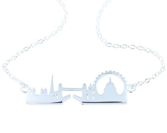 London Skyline Necklace