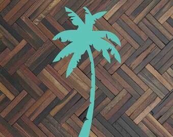 Palm tree decal Palm tree car decal Palm tree sticker Palm tree art Palm tree print Palm tree gift Window decal Summer decal Custom decal