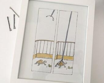 Framed Roald Dahl Esio Trot