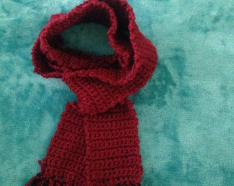 Child fringed scarf