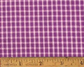 "Grape Purple Homespun Fabric (Full Yard 36"" x 44"")"