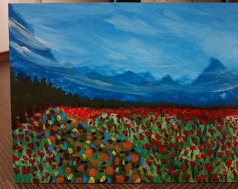 POPPIES AND MOUNTS