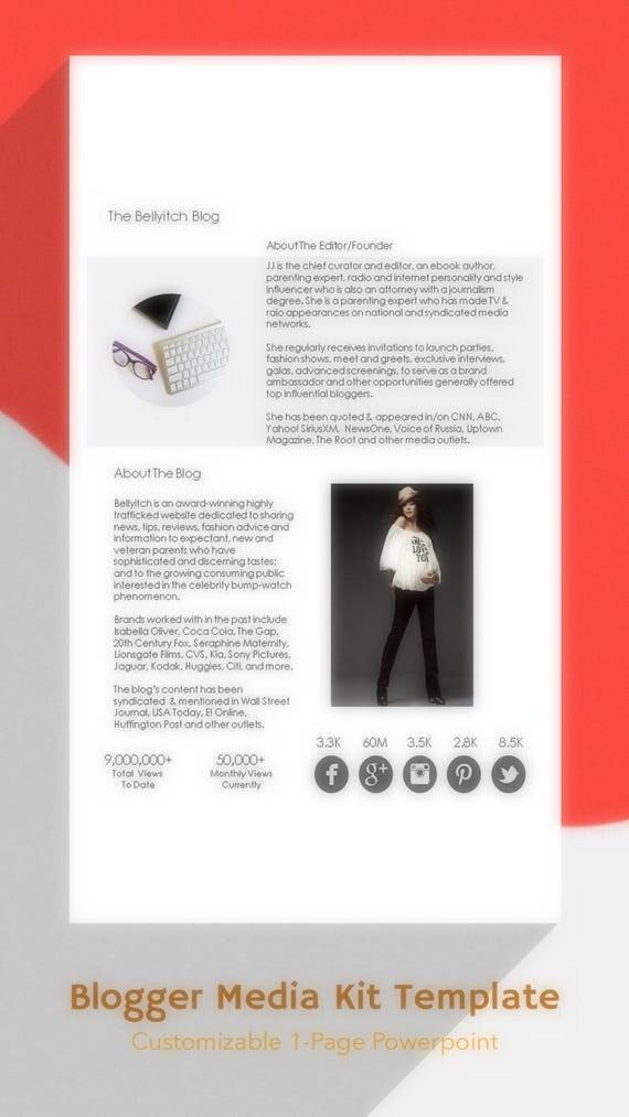 advertising media kit template - blog media kit template blogger media kit mediat kit