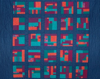 Improv Contained Quilt