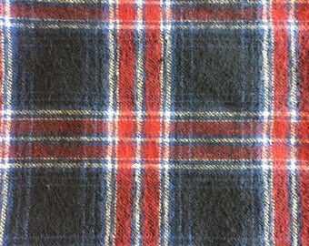 Red & Blue Flannel Cover