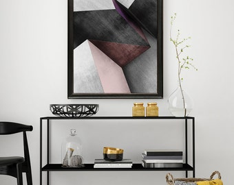 Poster box Deluxe Collection. Vertical decoration printed art