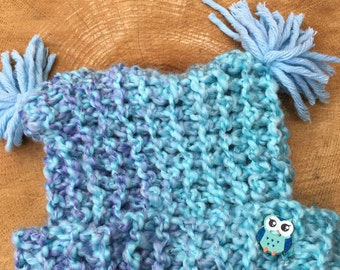 toddler handknit  hat