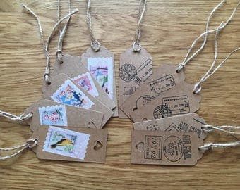 Gift tags, luggage tags , paper tags , travel tags