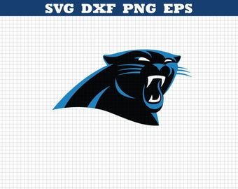 Carolina Panthers Svg,Panthers Svg,Football Clipart,American football,Panthers cricut file,Football svg files,Panthers decals logo