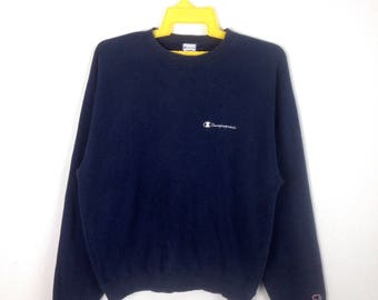Vintage CHAMPION sweatshirt crewneck jumper sportwear 90s urban fashion