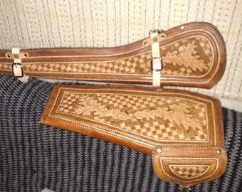 Rifle scabbard,  rifle case