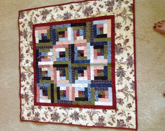 Wall quilt, wall decor, flower wall quilt, bed throw, wall blanket, hanging quilt, hanging decor, reasonable decor, reasonably priced