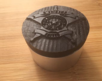 2 Inch Aluminum-Delrin Leather Stamps