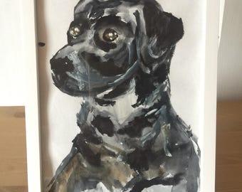 Watercolor framed animalls
