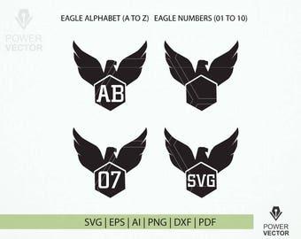 Eagle clip art – Etsy