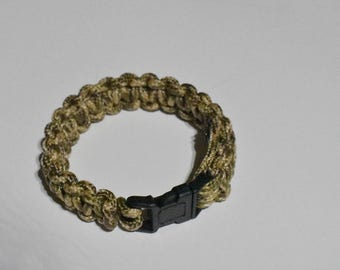 Paracord Bracelet Tan & Brown