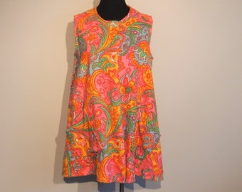 Vintage 1960's Bathing Suit Cover Up