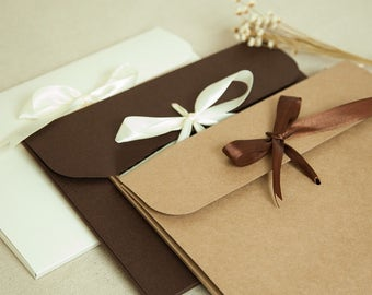 Ribbon Kraft Paper Envelopes/Kraft paper Envelopes/Ribbon Envelopes/Ribbon Box/Scarf Box/Photography Jacket