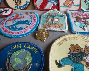 Girl Scout Patches 1991-1992