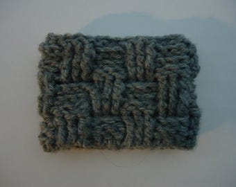 Basket Weave Coffee Cozy