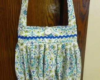 Handmade Pleated Fabric Purse