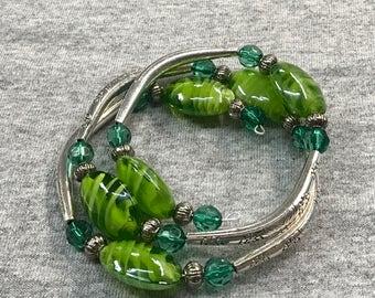 Mother Earth wrap bracelet