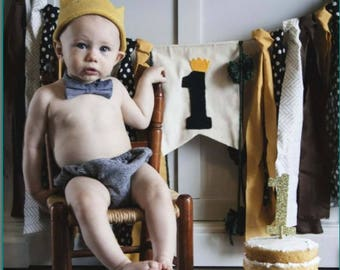 Highchair Banner, Photo Prop *Where the wild things are*