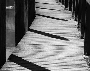 Walk/Photo Print-Giclee Print