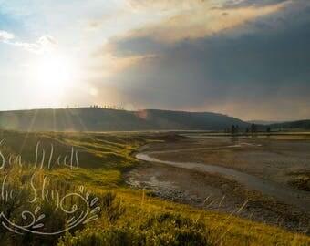 Yellowstone/ Digital Download/ Digital Image