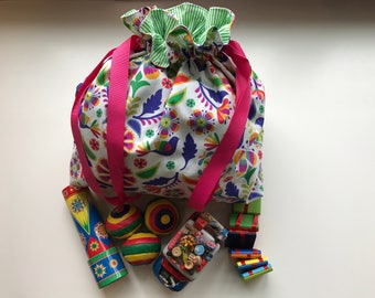 Colorful Carryall Tote