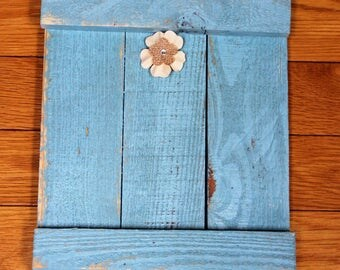 Wood Pallet Picture Frame