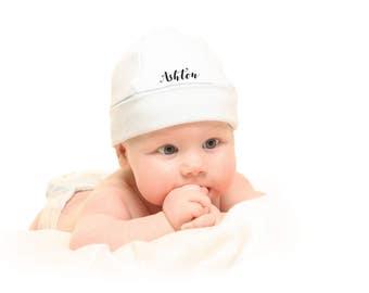 Personalised baby beanie