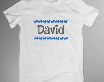 Personalised children's train T-shirt