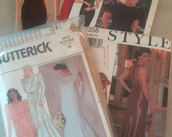 Vintage formal dress patterns