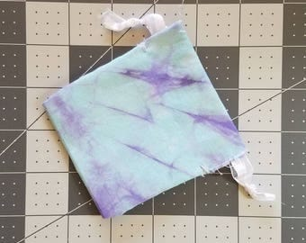 Small, Hand Dyed, Hand Sewn Pouch