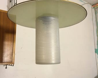 Ceiling lamp glass lamp 60 he years ceiling lamp lamp 60's glass