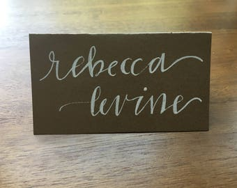 10 Shower/Wedding Tented Table Cards