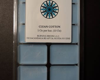 Soy Wax Melt - Clean Cotton