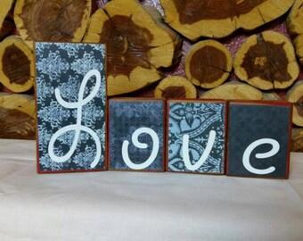 Decorative Letter Blocks