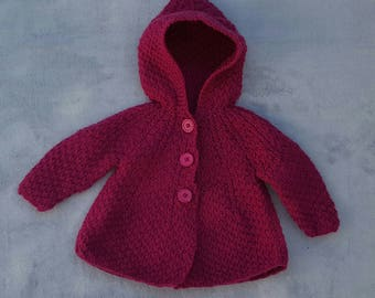 baby girl 3 month hooded vest