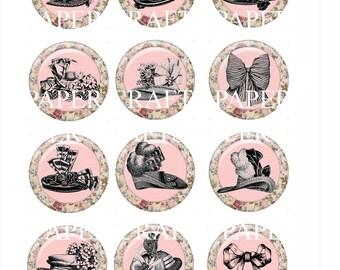 Instant Download Vintage Hats Images Embellishments Pdf