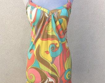 Trina Turk Pastel Geometric Tunic Dress 0
