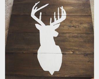Dark Walnut Buck