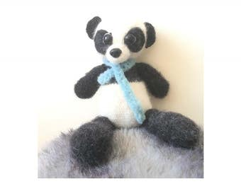 Amigurumi Panda Ping, Gehaakte Panda Ping