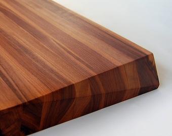 Large Chamfer Walnut Cutting Board