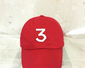Chance the Rapper Red hat
