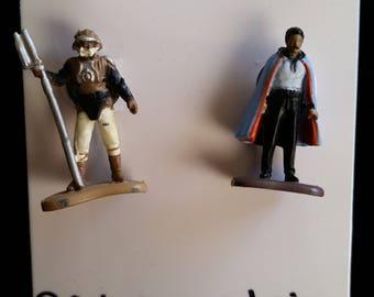 Vintage Star Wars Lando Calrissian Earrings